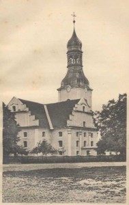 Die ehemalige evangelische Kirche