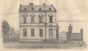 Das Gebäude der Post