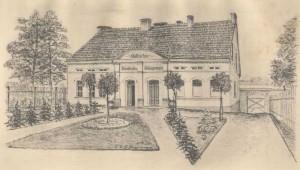 """Das ehemalige """"Städtische Krankenhaus Neutomischel"""""""