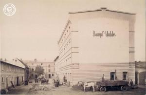 Die ehemalige Dampfmühle Maennel / Bild: Maennel Archiv