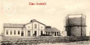 Gazownia 1903  Ze zbiorów Wojciecha Szkudlarskiego.