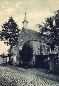 Kościół staroluterański (Długa 6). Ze zbiorów Wojciecha Szkudlarskiego.