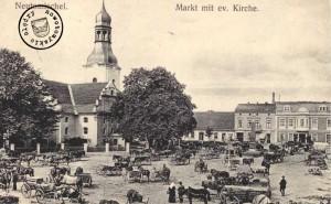 Der ehemalige Alte Markt (AK Sammlung Wojciech Szkudlarski)