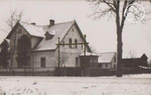 1933 - Anwesen Otto Jost, Neustädter Straße - Foto: Hr. Reinhardt