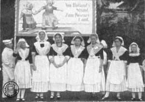 """""""Von Holland's Strand - Zum Posener Land"""" Hollaendergruppe - Phot. Alb. Schieck, Posen / Das Bild wurde aus dem Original Artikel uebernommen"""