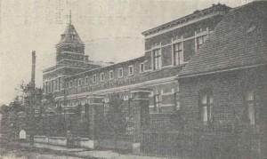 Krankenhaus in Grätz als Stiftung des Rudolf Mosse - Bild aus der 1909 erschienenen Veröffentlichung