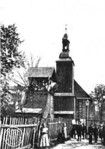 Evangel. Kirche in Rakwitz; erbaut 1662, Turm von 1781 - Zeitschrift für Bauwesen Jhrg. 70 /1920 - http://www.dbc.wroc.pl/dlibra