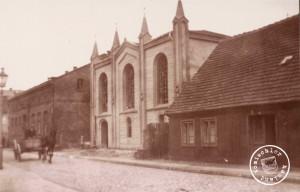 Synagoga - 1939, fot. Saegenschnitter (Długa 17)