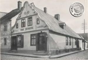 Fleischerstraße 124 vergl. Grundriss Abb. 56 Tafel XXVII Graetz - Stadtbaumeister Kunze