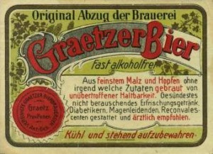 Grätzer Bier - Bildquelle : http://www.brauwesen-historisch.de/Polenverl1.html