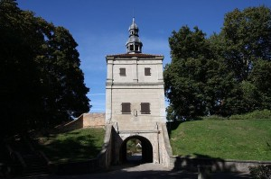 Torturm der alten Festung heute - Quelle: http://commons.wikimedia.org/wiki/File:62387_Zbaszyn_brama_zamkowa_4.JPG?uselang=de