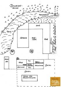 Das Areal des Bruck Hofes