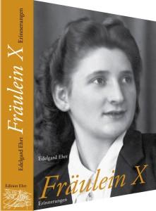 """Einband """"Fräulein X"""""""