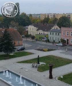 Blick auf das ehemalige Städtische Krankenhaus Neutomischel - Eigenauf.