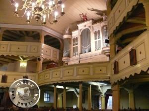 Blick auf die heutige Orgel in der Herz Jesu Kirche- Aufn. PM