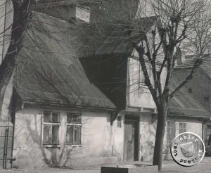 """Ehemaliges Haus am Alten Markt in der typischen Bauweise des """"alten"""" Neu Tomysl"""