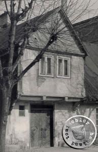 """Der für die Häuser im """"alten"""" Neu Tomysl typische Erker"""