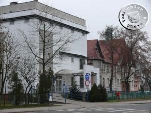 Nowy i stary budynek szpitala - 2013
