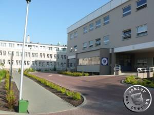 Die neuen, modernen Krankenhausgebäude in Nowy Tomysl - 2013 - Bild PM