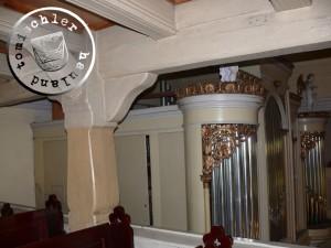 2012 - Im inneren der Herz Jesu Kirche, der früheren evangelischen Kirche zu Neu Tomysl - Aufn. PM