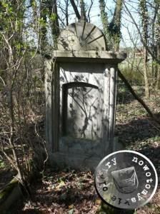 Grabstelle, heute ohne Inschrift - Aufn. PM