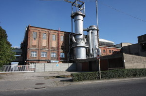 Die Zuckerfabrik in Opalenica - Quelle: http://commons.wikimedia.org/wiki/File:58801_Opalenica_cukrownia_1.JPG?uselang=de