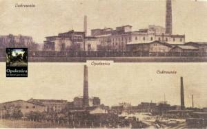 "Opalenica Cukrownia - Bild: ""Opalenica na dawnej pocztówce"" S.35 Öffentliche Stadt- und Kreisbibliothek"