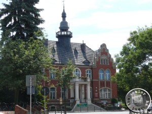 Das Rathaus von Opalenica - erbaut 1897 - Aufn. PM 2013