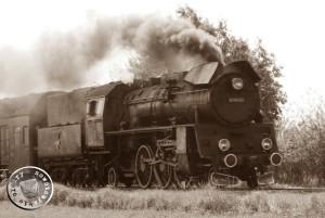 Dampflok auf der Strecke Zbąszyń - Jastrzębsko Stare / Eigenaufn.