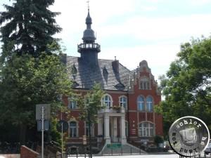 Das im Jahr 1897 in der Amtszeit von Th. Thorzewski neu erbaute Rathaus - Eigenaufn. 2013 PM