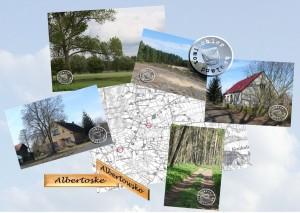 Bilder aus Albertoske, die ehemaligen Schulhäuser werden heute als Wohngebäude genutzt