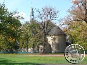 Die Kirche zu Boruja Kościelna - Kirche des Heiligen Adalbert - Eigenaufn. 2007