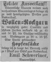 Im September fallen die Preise bei Schweriner weiter 1807/09/24