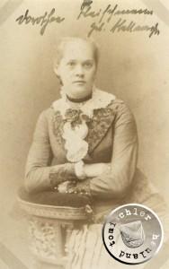 Dorothea Fleischmann geb. Stellmacher - Aufnahme um 1884  / Bild: Privatbesitz D. Maennel