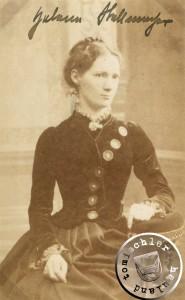 Helena Stellmacher - Aufnahme um 1884  / Bild: Privatbesitz D. Maennel