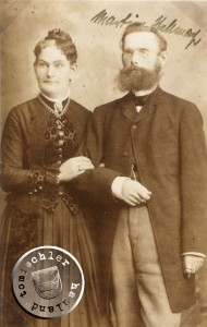 Martin Stellmacher, Aufnahme um 1884 / Bild: Privatbesitz D. Maennel
