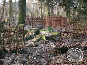 Der erwähnte Begräbnisplatz in Boruja im Jahr 2008 - EA