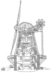 Innenansicht der Britzermühle als Beispiel - Quelle: http://commons.wikimedia.org/wiki/Britzer_M%C3%BChle?uselang=de#mediaviewer/File:Britzermuehle-innen02.jpg