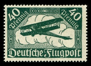 Doppeldecker - Quelle: http://commons.wikimedia.org/wiki/Category:Biplanes?uselang=de#mediaviewer/File:Flugpost_1.jpg