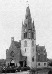 Die ehemalige evangelische Kirche - heute: Kościół św. Józefa. Opalenica, ul. Powstańców Wielkopolskich / Bild: http://commons.wikimedia.org/wiki/File:Kosciol_Jozefa-Opalenica-1.JPG?uselang=de