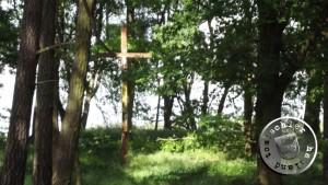 Gedenkkreuz auf dem ehemaligen evangelischen Friedhof in Kopanki - Foto: A. Krok