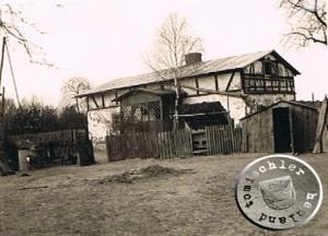 1944 im April - eine alte Aufnahme des Hofes Hauf, welche mein Vater noch aufgenommen hatte - Foto: Privatbesitz