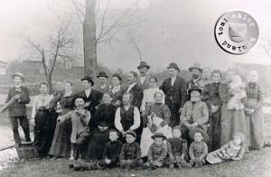 1906 im April - Hochzeit in Kopanke von Anna geborene Hauf und Gustav Krok - Foto: Privatbesitz