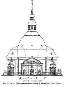 Neue evangelische Kirche in Bentschen, Prov. Posen, Abb. 60 - Bild: (3)