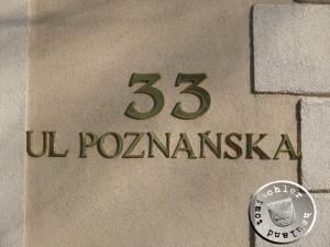 ul. Poznańska 33 - Aufn. PM