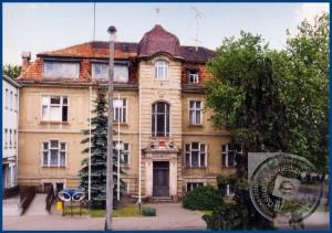 Das Stadtamt in den 90iger Jahren - Bild: Kreis- und Stadtbibliothek von Nowy Tomyśl
