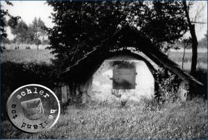 Wolnostojący piec chlebowy w Glinnie - Foto: 1940 Gerhard Jaenicke