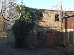 Das alte Fabrikgebäude - Foto: PM