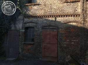 Zugang zum alten Spinnereigebäude - Foto: PM