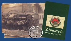 """Eisenbahnunfall in Bentschen - Bild veröffentl. im Buch """"Zbąszyń - na dawnej pocztówce"""" Seite 118 / Abb. 114"""